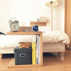無印良品はやっぱりすごい!一人暮らし部屋がカフェ風に | RoomClip mag | 暮らしとインテリアのwebマガジン