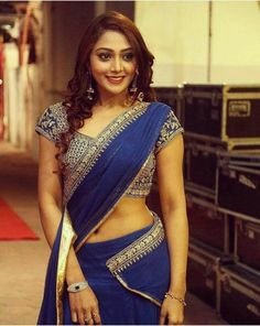 Exclusive stunning photos of beautiful Indian models and actresses in saree. Hottest Models, Hottest Photos, Hip Hop Models, Beauty Youtubers, Party Sarees, Indian Models, Half Saree, Saree Styles, Lingerie Models