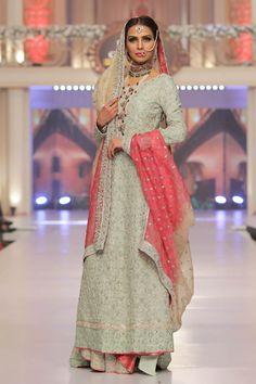 Sana Abbas Collection Telenor Bridal Couture Week 2015 Pics