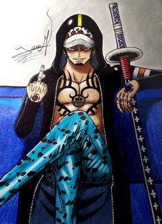 Trafalgar Law by Ryoku95 on DeviantArt