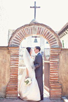An Intimate Garden Wedding In San Juan Capistrano CA