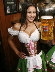 oktoberfest beer girl dress http://www.oktoberfesthaus.com