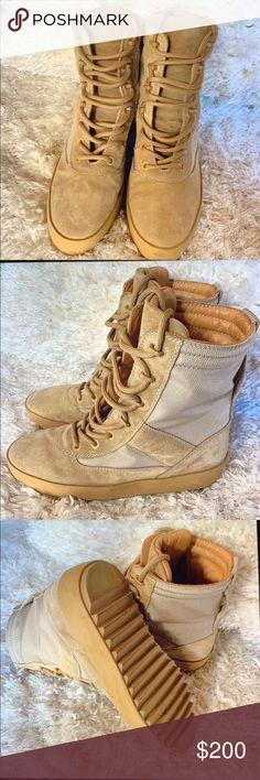 fe54d3ef1aa14 Yeezy Military Boot Season 3 Rock Yeezy Military Boot Season 3 Woman s size  Yeezy Shoes Combat