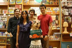 Divya Srinivasan and members of The Octopus Project!