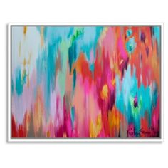 Check out this item at One Kings Lane! Kristy Gammill, Multicolor Abstract