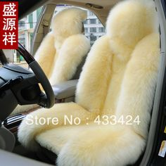 Seat Cover For One Front seat,Cushion Wool Interior Accessories Safety Lada Ford Focus Kia Spectra Kalina Polo Sedan VW Car $84.37