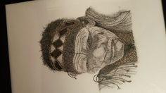 Art Pointillism by Thea Loots Pointillism, Drawings, Hair Styles, Beauty, Art, Hair Plait Styles, Art Background, Hair Makeup, Kunst