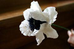 Flower Poppy  Flower Decoration  Floral by Jewelrylimanska on Etsy