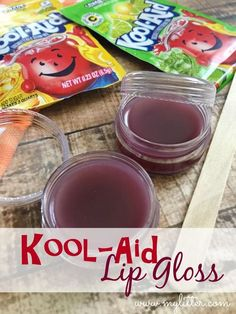 Kool-Aid Lip Gloss DIY