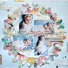 Chris and Paige: The One with January 2013 American Crafts Layouts