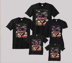 Disney Cars Birthday Shirt Lightning McQueen Birthday Shirt Custom personalized shirts for all family, Black 2nd Birthday Boys, Family Birthday Shirts, Custom Birthday Shirts, Turtle Birthday Parties, Disney Cars Birthday, Ninja Turtle Birthday, Moana Birthday, Family Shirts, Custom Shirts