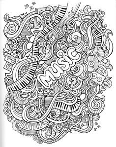 Doodle coloring pages thanksgiving doodle art coloring pages doodle coloring pages free doodle coloring pages best . doodle coloring pages doodle art Doodle Coloring, Mandala Coloring, Free Coloring, Coloring Book Pages, Printable Coloring Pages, Coloring Sheets, Mandalas Painting, Mandalas Drawing, Music Illustration