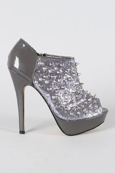 Shiekh Silver Glitter Womens Stacy 28 Z5333