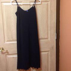 Black spaghetti strap dress by gap Gap dress.   Little black dress. By gap ❤️ size small GAP Dresses Mini