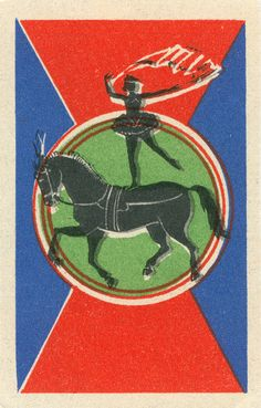 What is it about this that made me instantly think: This must be Russian?  russian matchbox label by maraid, via Flickr