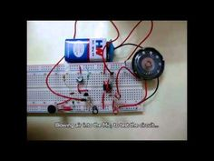 Simple Audio Amplifier Circuit Diagram using 555 Timer IC
