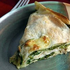 Spinach and Chicken Tortilla Bake