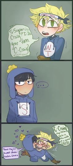 Super Craig is super gay for his super cute bf