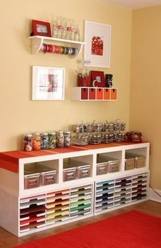 Click to see more organization & craft ideas!