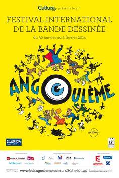 Affiche festival d'Angoulème
