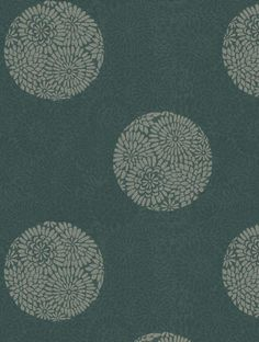 Intrigue , a feature wallpaper from Harlequin, featured in the Decadence collection.