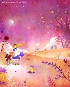 Yoon-Hee Kim-Alice in Wonderland