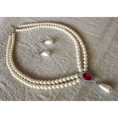 Classy Pearl Necklace Set - Online Shopping for Necklaces by Bhamini Jewellery & Accessories
