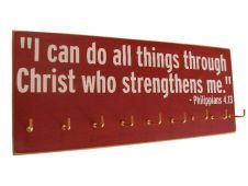 Gifts - #Running medals display with mantra - $28.99