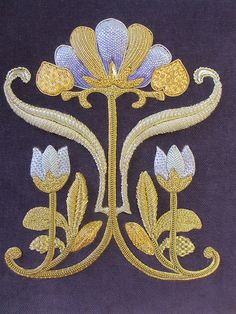 Royal School of Needlework . . Exquisite