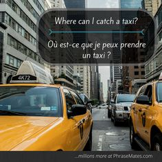 Catch a taxi to the airport or back home with this phrase!