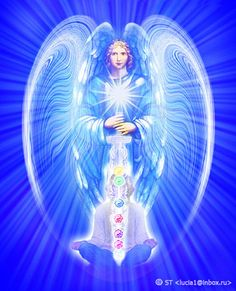Archangel Michael - don't ever hesitate to call on him for protection before readings or anytime you feel threatened