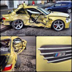 Moscow car crash M3