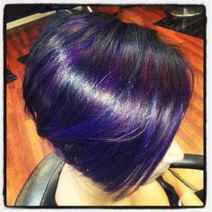 purple highlights #salonesperanza