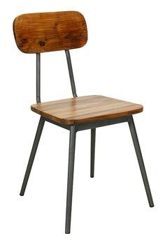 Imagen de las sillas Madeira de estilo retro vintage.