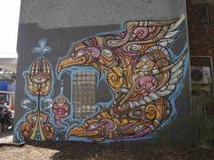 Melbourne Street Graffiti