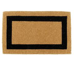 Picture Frame Doormat   Pottery Barn