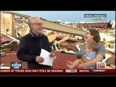 Wolf Blitzer Asks Tornado Survivor If She Thanked the Lord; Tells Him She's an Atheist