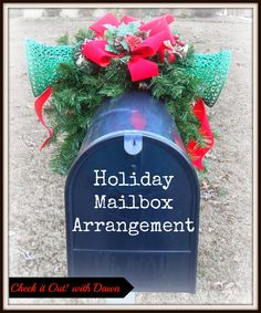 Check it Out! with Dawn: #TBCCrafters Craft Hop - Holiday Mailbox ...