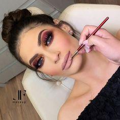 Full Makeup Love Makeup Makeup Inspo Makeup Looks Diy Makeup Burgundy Makeup Party Makeup Wedding Makeup Makeup News Glam Makeup, Full Makeup, Makeup Geek, Love Makeup, Eyeshadow Makeup, Bridal Makeup, Wedding Makeup, Makeup Tips, Makeup Looks