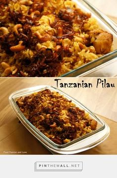 TANZANIAN PILAU « foodpassionandlove - this recipe makes great use of a pressure cooker - but would be easy enough to do stove top. Basmati rice, herbs and spices and chicken! My mouth is watering!