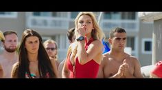 Kelly Rohrbach as C.J. Parker wears Casio G-Shock watch in Baywatch movie