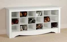Ideas Bench with Shoe Storage - http://burgerjointdc.com/ideas-bench-with-shoe-storage/