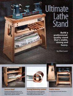 #1670 Lathe Stand Plans - Lathe
