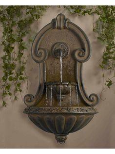 Mura Elegante Wall Fountain - Garden Fountains & Outdoor Decor