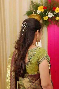 new Ideas wedding hairstyles princess bridal Indian Bridal Hairstyles, Bride Hairstyles, Hairstyles Haircuts, Flower Hairstyles, Short Wedding Hair, Trendy Wedding, Bridal Hairdo, Princess Bridal, Hair Dos
