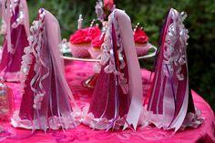 Glittered Princess Hats