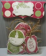 Christmas tags - what a great way to give a gift!!