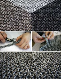chainmail traditional japanese method