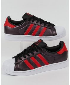 Discount Adidas Superstar Mens Red Fashion Sneakers T-1095 Red Nike Shoes ac8a1f11a