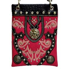 New Trending Bumbags: The Chic Bag - Rhinestone Cowgirl 4-way Bag - Longhorn Medallion, Conchos  Studs (Fuchsia; 6x8x1in) - BUY 2 GET A 3rd BAG FREE!. The Chic Bag – Rhinestone Cowgirl 4-way Bag – Longhorn Medallion, Conchos  Studs (Fuchsia; 6x8x1in) – BUY 2 GET A 3rd BAG FREE!   Special Offer: $39.95      377 Reviews The Chic Bag designs and manufactures innovative cross-body designer handbags releasing new and...